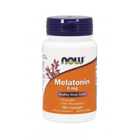 Melatonina 3mg (180 loz) Now Foods