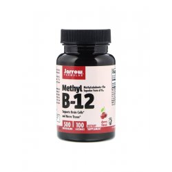 Witamina B-12 Methyl 500 mcg (100 tab do ssania) Metylokobalamina Jarrow Formulas