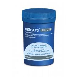 BICAPS ZINC 15 Cytrynian Cynku (60 kaps) ForMeds