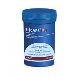 BICAPS Witamina B3 Niacyna 500 mg (60 kaps) ForMeds
