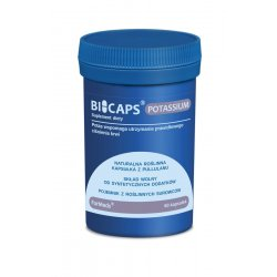BICAPS Potassium Cytrynian Potasu 360 mg (60 kaps) ForMeds