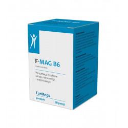 F-MAG B6 Cytrynian Magnezu + Witamina B6 Proszek 51 g ForMeds