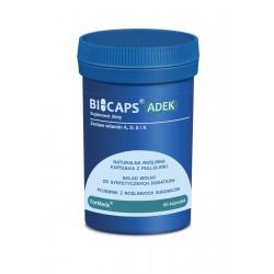 BICAPS ADEK Zestaw Naturalnych Witamin (60 kaps) ForMeds