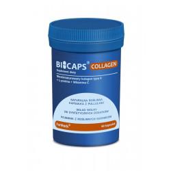 BICAPS Collagen Kolagen typ. II L-Prolina Witamina C (60 kaps) ForMeds