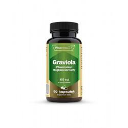 Graviola Sproszkowane Owoce 400 mg (90 kaps) Pharmovit