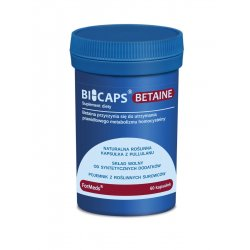 BICAPS Betaine Betaina HCL 660 mg (60 kaps) ForMeds