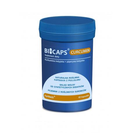 BICAPS Curcumin Kurkumina Kurkuma + Piperyna (60 kaps) ForMeds