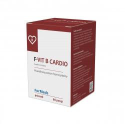 F-VIT B Cardio Witamina B12 + Witamina B6  + Kwas foliowy 48 g ForMeds