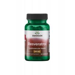 Resveratrol 250 mg (30 kaps) Swanson