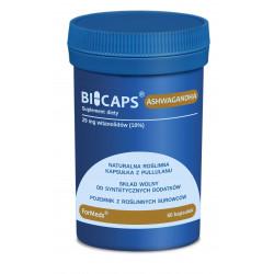 BICAPS Ashwagandha 29 mg 10% Witanolidów (60 kaps) Żeń-Szeń Indyjski ForMeds