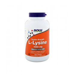 L-Lysine L-Lizyna 1000 mg (250 tab) Aminokwasy Now Foods