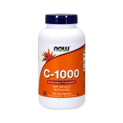 Witamina C-1000 + Bioflawonoidy + Rutyna (250 kaps) Now Foods