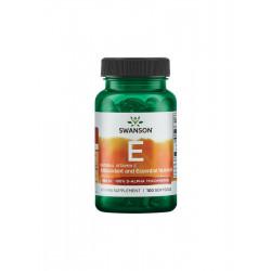 Naturalna Witamina E 400 IU D-Alfa Tokoferol (100 sgels) Swanson