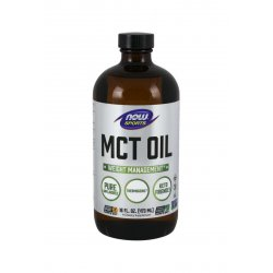 OIej MCT Pure (473 ml) Bezsmakowy Dieta Ketogeniczna Low Carb Now Foods