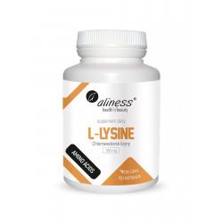 L-Lysine L-Lizyna Chlorowodorek 500 mg (100 kaps) Aliness