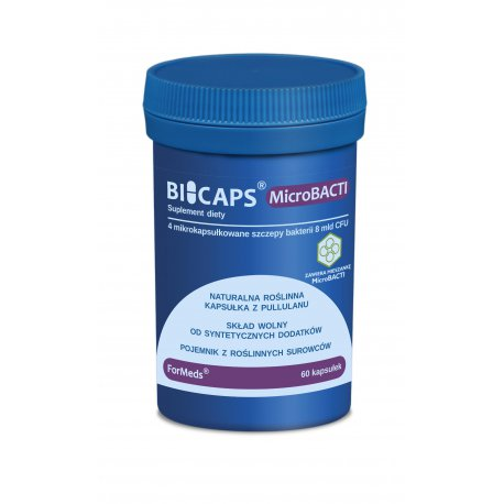 BICAPS MicroBACTI Probiotyk 8 mld 305 mg (60 kaps) ForMeds