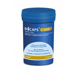 BICAPS Witamina C 1000+ PLUS (60 kaps) Witamina C + Bioflawonoidy Cytrusowe ForMeds