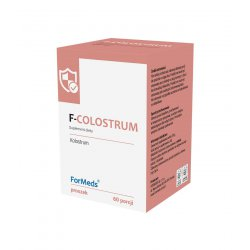 F-COLOSTRUM Kolostrum Wołowe Proszek 36 g (60 porcji) ForMeds