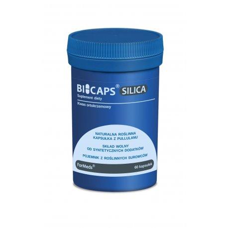 BICAPS SILICA Krzem (Kwas Ortokrzemowy + Okrzemki) 50 mg (60 kaps) ForMeds