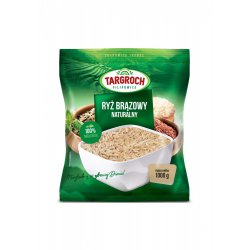 Ryż Brązowy naturalny 1 kg Targroch