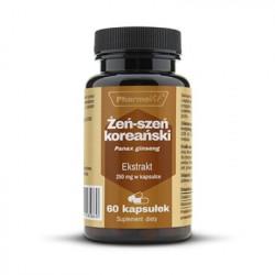 Żeń-szeń Koreański 4:1 250 mg (60 kaps) Pharmovit