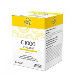 LIPOCAPS C 1000 mg Witamina C Liposomalna w Kapsułkach (120 kaps) ForMeds