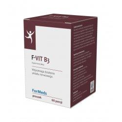 F-VIT B3 15 - Witamina B3 Niacyna 15 mg + Inulina 168 g ForMeds