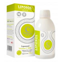 Liposomalna Witamina C 1000 Buforowana Cytryna 250ml Liposol