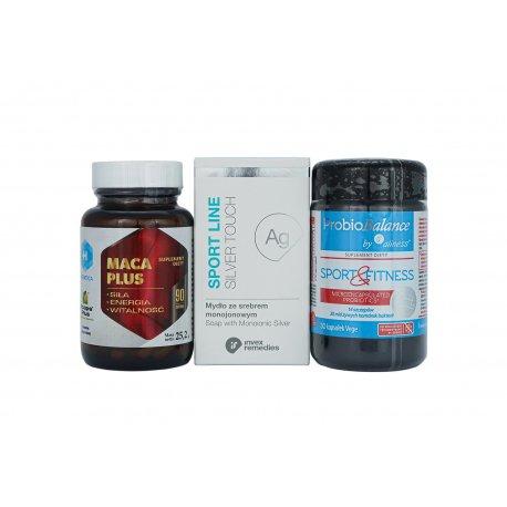 Zestaw Prezentowy Sport & Fitness (Maca + Probiotyk)
