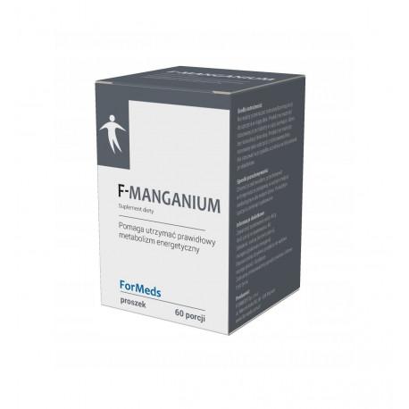 F-MANGANIUM Mangan Glukonian Proszek 48 g (60 porcji) ForMeds
