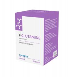F-GLUTAMINE L-Glutamina Proszek 63 g (90 porcji) Aminokwasy ForMeds