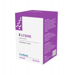 F-LYSINE L-Lizyna Chlorowodorek Proszek 37,2 g (60 porcji) Aminokwasy ForMeds