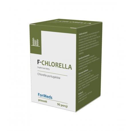 F-CHLORELLA Portugalska Proszek 54 g (90 porcji) ForMeds