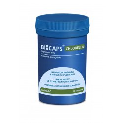 BICAPS Chlorella Portugalska 530 mg (60 kaps) ForMeds