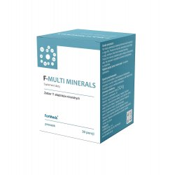 F-MULTI MINERALS - 11 Minerałów Proszek 212,4 g (30 porcji) ForMeds
