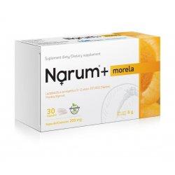 Narum+ Morela 200 mg (30 kaps) Probiotyk Lactobacillus Acidophilus Narine