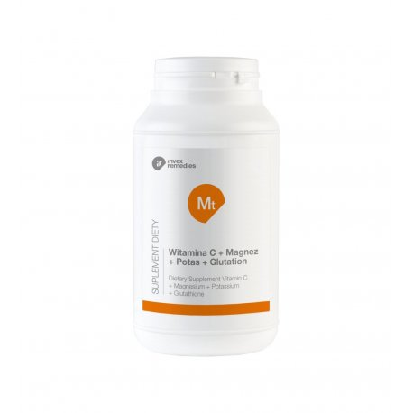 Witamina C + Magnez + Potas + Glutation 450 g (Mt Mitochondria) Invex Remedies