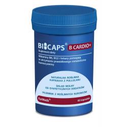 BICAPS B Cardio+ Witamina B6, B12, Folian (60 kaps) ForMeds