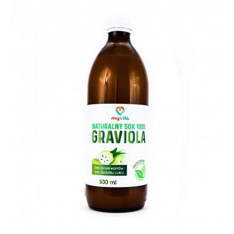 Sok z Gravioli 100% Naturalny 500 ml MyVita