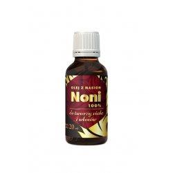 Olejek z Nasion Noni na Skórę i Włosy 100% Czysty 20 ml Hepatica