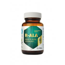 R-ALA Kwas R-alfa Liponowy (60kaps) Hepatica