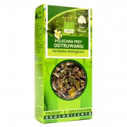 Herbata Polecana przy Odtruwaniu EKO 50g Zioła Dary Natury