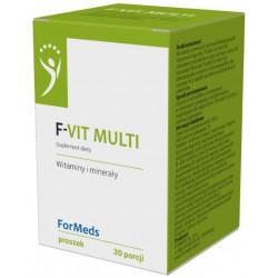 F-VIT MULTI Witaminy i Minerały Proszek 47,75 g (30 porcji) ForMeds