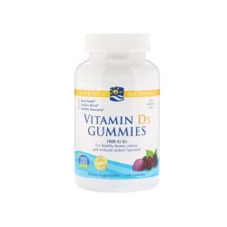 Vitamin D3 Gummies 1000 IU Witamina D3 (120 żelków) Nordic Naturals