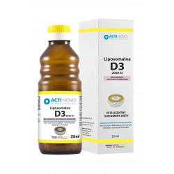 Liposomalna Witamina D3 2000IU (250ml)Liposomalna Witamina D3 2000IU (250ml) Bez Alkoholu Actinovo