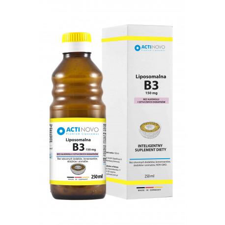 Liposomalna Witamina B3 150mg (250ml) Bez Alkoholu Actinovo