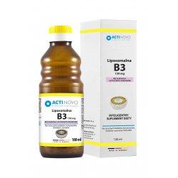 Liposomalna Witamina B3 150 mg (100 ml) Bez Alkoholu Actinovo