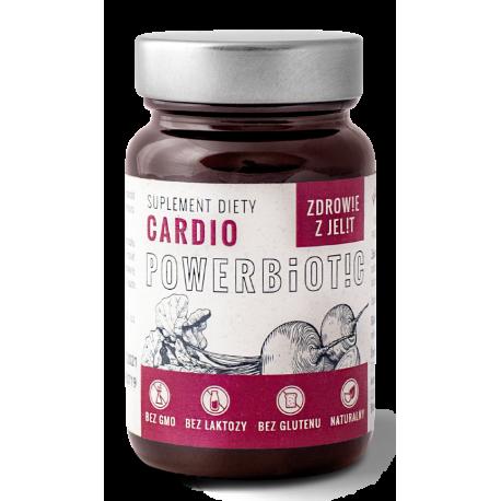 Powerbiotic Cardio Zdrowie z jelit Sok z Buraków kiszonych (60 kaps) Ecobiotics