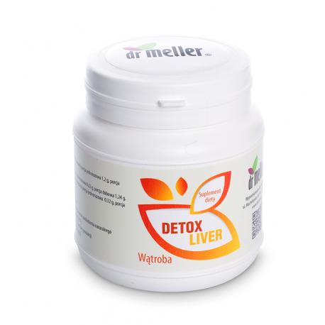 Detox Liver Wątroba Proszek 210 g Dr Meller