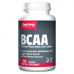 BCAA Aminokwasy Egzogenne Regeneracja (120 kaps) Jarrow Formulas